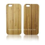 Горячий лазер гравируя пустой случай древесины iPhone 6 аргументы за сотового телефона оптовой продажи нестандартной конструкции