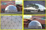 Шатер геодезический купола рамки напольного укрытия Gazebo алюминиевый
