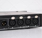 Df4.8sp 4 in het AudioSysteem van DJ van de Bewerker van het Beheer van Spreker 8 uit DSP