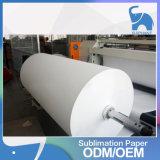 Papel quente do Sublimation da transferência térmica do rolo da venda para a impressão de transferência do Sublimation