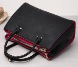 Madame de sac en cuir fabriquée à la main d'épaule d'unité centrale de qualité européenne de type sacs à main