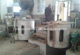 Four de fonte de fréquence moyenne d'admission de 1 tonne utilisé pour le fer/acier/cuivre