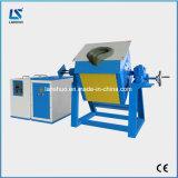 indução 20kg elétrica que inclina a fornalha de derretimento da fornalha de Smelting do ouro