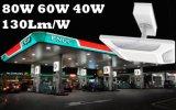 Il prezzo di fabbrica della Cina 5 anni della garanzia di stazione di servizio montata superficie facile 100W dell'installazione illumina gli indicatori luminosi del LED