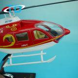 Modèle personnalisé par résine de l'hélicoptère Ec-135 de bourdon