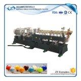 O granulador gêmeo do plástico do HDPE do parafuso
