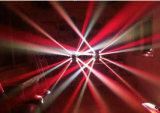 [810و] عنكبوت [لد] متحرّك رئيسيّة حزمة موجية ضوء لون بيضاء [رغبو] 4 في 1 لون