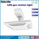 China-Fabrik-Preis 5 Jahre Garantie-einfache Installations-Oberfläche eingehangene 100W Tankstelle-beleuchtet LED-Lichter