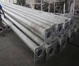 Precio de fábrica para el alumbrado público solar galvanizado postes de la INMERSIÓN caliente de los 8m