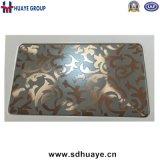 Qualitäts-Laser-Radierungs-Edelstahl-dekoratives Blatt