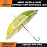 Presente de aço que anuncia o mini guarda-chuva da chuva