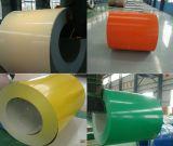 Hoja de acero galvanizada cubierta color de PPGL en bobina