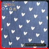 Горячим напечатанная сбыванием тонко ткань джинсовой ткани 32*32 для одежды способа