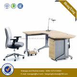 Bureau de table en bois de meubles de bureau de pattes en métal (NS-NW197)