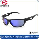 Anti glaces r3fléchissantes/lunettes de soleil de sports en plein air d'enduit pour les hommes et la tempe molle de femmes