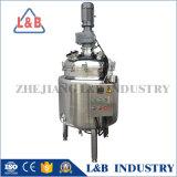 Tanque de mistura do revestimento Heated do aço inoxidável de produto comestível de 1000 litros