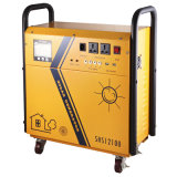 Portable 300With55ah/220V fora do sistema solar da grade para o uso Home