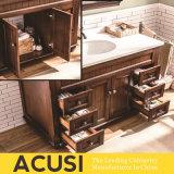 최신 판매 좋은 품질 간단한 작풍 단단한 나무 목욕탕 허영 목욕탕 내각 목욕탕 가구 (ACS1-W16)