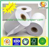 Die angepasste Qualität druckte Rollen des thermischen Papiers vor