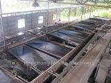 россыпное моющее машинаа золота реки 100tph