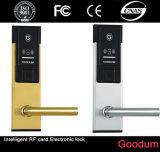 高品質RFIDのカードの機密保護のハンドルの安全なデジタルキーレスホテルロック