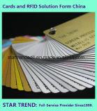 Tarjeta magnética tarjeta de PVC Cr80 tarjeta de color