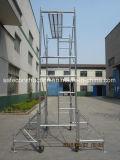 Het veilige SGS Overgegaane Frame van de Steiger van het Metaal voor Bouw