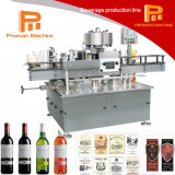 Машина для прикрепления этикеток вина/водочки/вискиа/бутылки питья Tequila/спирта