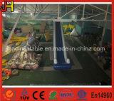 Diapositiva de agua azul inflable durable del PVC para los cabritos