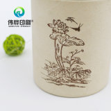 Коробка круглого декоративного чая печатание высокого качества цены по прейскуранту завода-изготовителя упаковывая