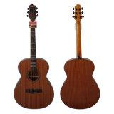 Дюйм Om тавра 40 Aiersi вводит прокатанную Mahogany акустическую гитару в моду