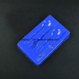 Fabricantes azuis Todos os tipos de utensílios de mesa Bandeja de bolhas