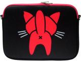 Couverture d'ordinateur portatif du néoprène compétitif 15 de chat populaire de carton ''