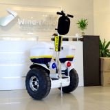 Croiseur électrique de police, scooter électrique de la police 72V pour la vente