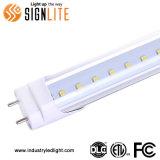 Luz compatible del tubo del lastre al por mayor los 4FT 18W LED de la fábrica con la FCC de ETL