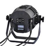 IP65は屋外のためのLEDの同価ライト54PCS 3W RGBW LED同価を防水する