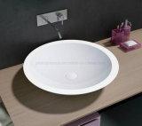 Bassin de salle de bains en pierre artificielle de mode (PB2056)