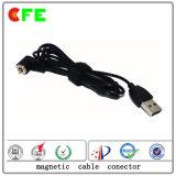 1pin impermeabilizzano il connettore di cavo del magnete per elettronico