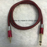 3.5mm Stereo Plug aan 6.35mm Mono Plug Cable