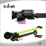 立てなさい2つの車輪バランスをとるカーボンファイバーの通りの電気スクーター(SZE250S-6)を
