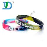 Wristband del silicone di colore di turbinio