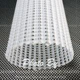 Rete metallica di plastica sporta