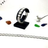 Weißes GroßhandelsEdelstahl-Uhrwristband-Armband für Mädchen