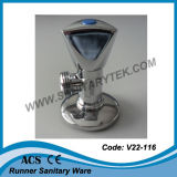 Polished угловой вентиль крома (V22-116)