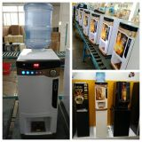 を使って硬貨のアクセプターの熱いインスタントコーヒーの自動販売機(F303V)