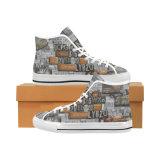 [دروبشيبّينغ] مصنع يمتلك تصميمك أحذية مع تصميد طبعات كلاسيكيّة نساء ورجال نوع خيش حذاء رياضة