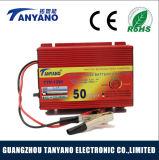 12V 50A universal de plomo ácido automático cargador de batería de coche automático