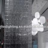 Antike moderne hängende Glaskugel-hängende Beleuchtung für Projekt