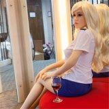 Amerikaanse Vrouwelijke Slag - omhoog de Opblaasbare Levensgrote Erotische Lijfeigenschap van het Silicone van Doll