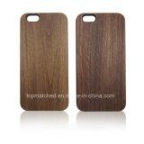 공백을 새기는 최신 Laser는 iPhone 6 나무 상자를 위한 도매 셀룰라 전화 상자를 주문 설계한다